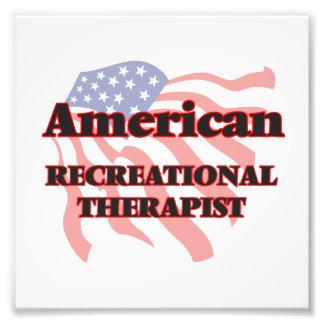 American Recreational Therapist Photographic Print