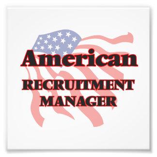 American Recruitment Manager Art Photo