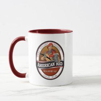 American Red Mug
