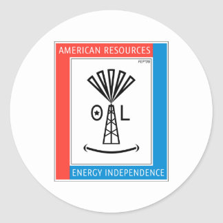 American Resources Classic Round Sticker