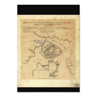 American Revolution Battle of Bunker Hill 1775 Card