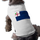 American Revolution Battle of Bunker Hill Flag Doggie T-shirt