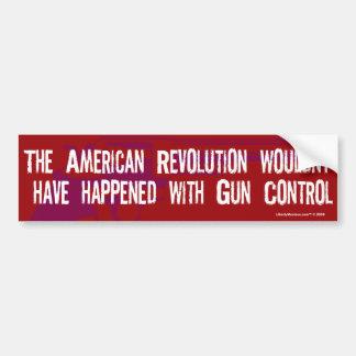 American Revolution Gun Control Bumper Sticker