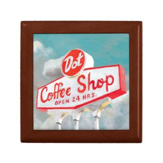 American Roadside | Coffee Shop Sign Gift Box