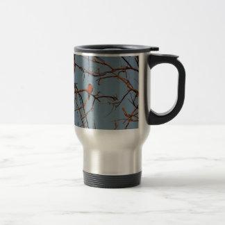 American Robin home to roost Travel Mug