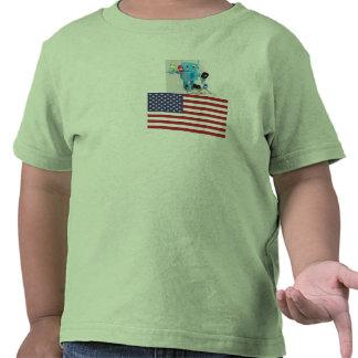 American robot shirt