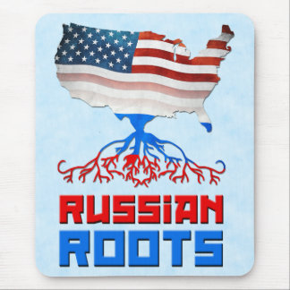 American Russian Roots Mousemat