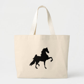 American Saddlebred Horse Large Tote Bag