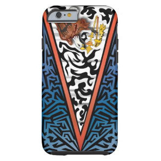American Samoa Abstract Tough iPhone 6 Case