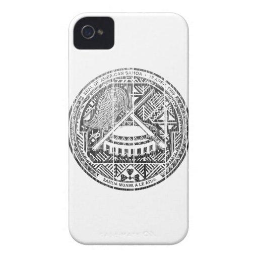 American Samoa Coat Of Arms Case-Mate Blackberry Case