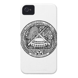 American Samoa Coat Of Arms iPhone 4 Case-Mate Cases