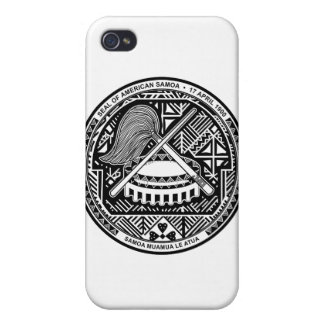 American Samoa Coat Of Arms iPhone 4/4S Cover