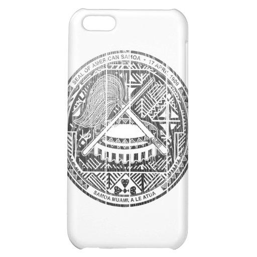 American Samoa Coat Of Arms iPhone 5C Case