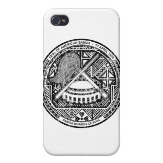 American Samoa Coat Of Arms Cover For iPhone 4