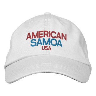 American Samoa Embriodered Hat Embroidered Hat