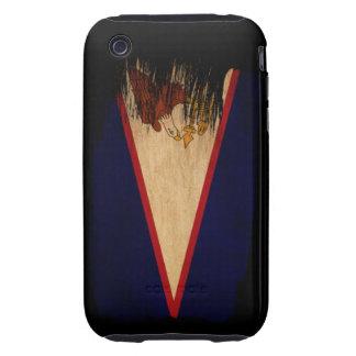 American Samoa Flag iPhone 3 Tough Cases