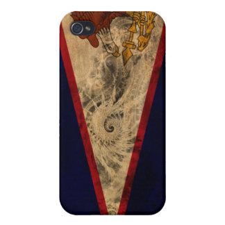 American Samoa Flag Case For iPhone 4
