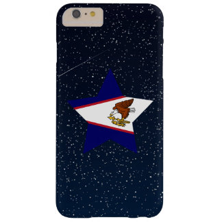 American Samoa Flag Star In Space Barely There iPhone 6 Plus Case