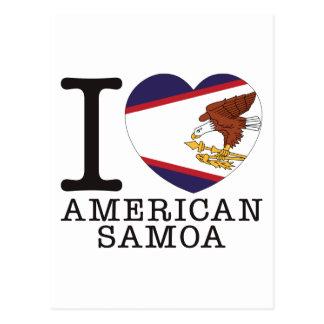 American Samoa Love v2 Post Cards