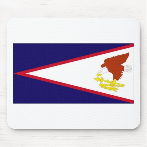 American Samoa National Flag Mouse Pad