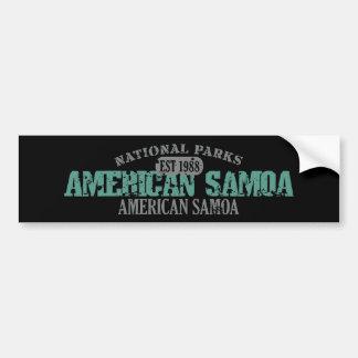 American Samoa National Park Bumper Sticker