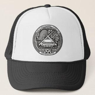 american samoa seal trucker hat