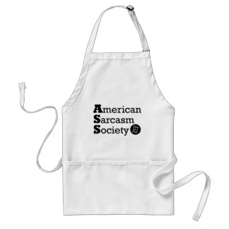 American Sarcasm Society Apron