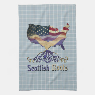 American Scottish Roots Kitchen Towels