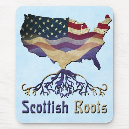 American Scottish Roots Mousemat