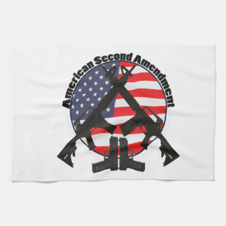 American Second Amendment Tea Towel