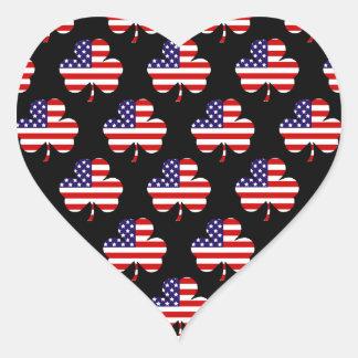 American Shamrock Stickers