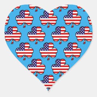 American Shamrocks Sticker