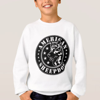American Sheepdog Patch Sweatshirt