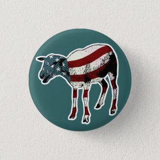 American Sheeple Button