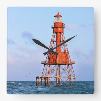 American Shoal Lighthouse, Florida Keys Wallclock