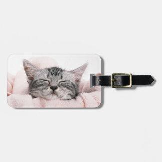 American Shorthair Cat Luggage Tag