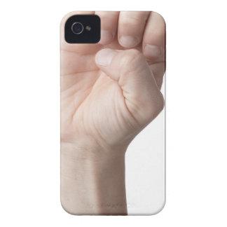 American Sign Language 14 iPhone 4 Case-Mate Case