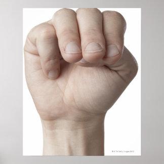 American Sign Language 18 Poster