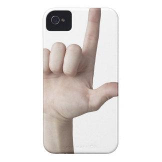 American Sign Language 25 iPhone 4 Case
