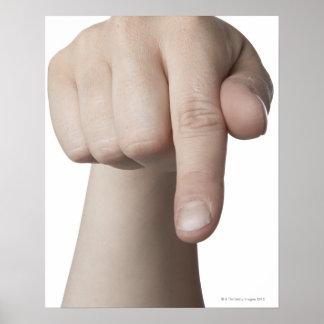 American Sign Language 27 Poster