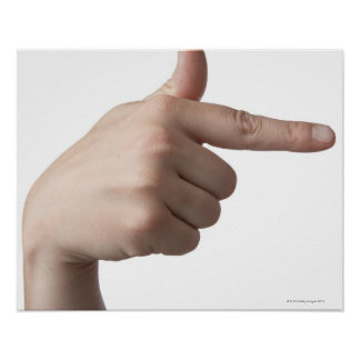 American Sign Language 28 Poster