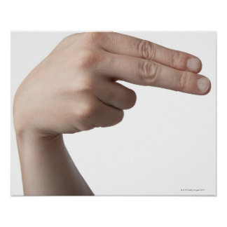 American Sign Language 4 Poster