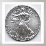 American Silver Eagle Wall Art