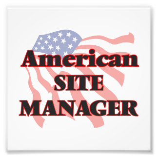 American Site Manager Photograph