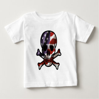 American Skull & cross bones Baby T-Shirt