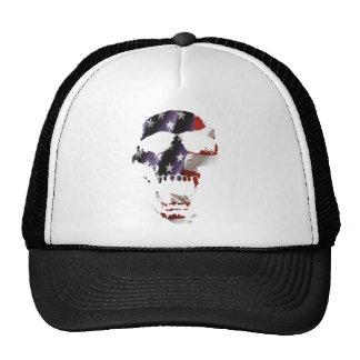 American skull design 2 cap
