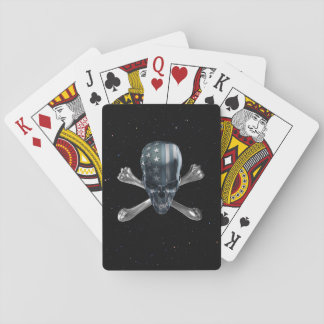 American Skull Playing Cards