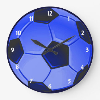 American Soccer or Association Football Large Clock