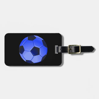 American Soccer or Association Football Luggage Tag