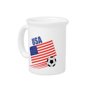 American Soccer Team Pitchers